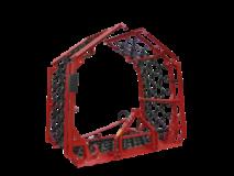 Meadow-field-drags hydraulic folding